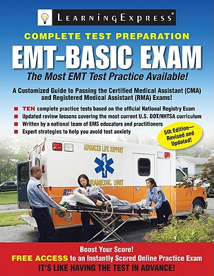 Emt Basic Exam By Learningexpress (COR)
